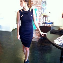 """""""They're a no brainer with denim, but they also look great with a pencil dress."""""""