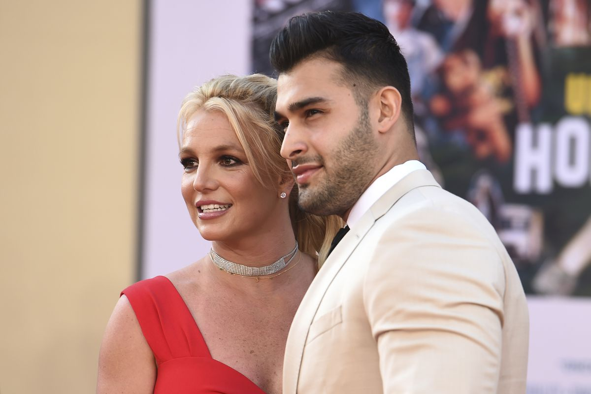 Britney Spears and Sam Asghari (pictured in 2019) are engaged.