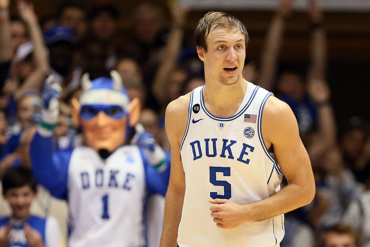 2baf053db149 NBA Draft results  Pistons fans are going to love Luke Kennard s jump shot