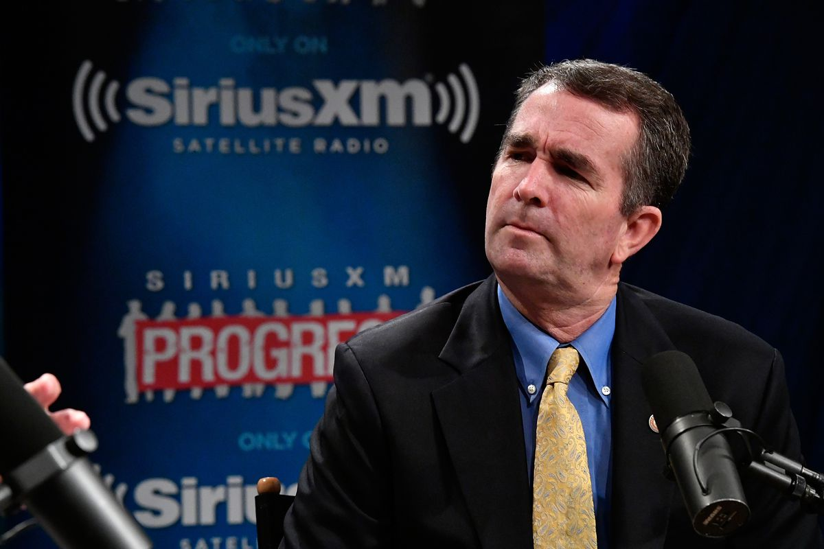 Virginia's Lt. Governor Ralph Northam Talks To Host Dean Obeidallah About His Gubernatorial Campaign During A SiriusXM Town Hall In Washington, D.C.