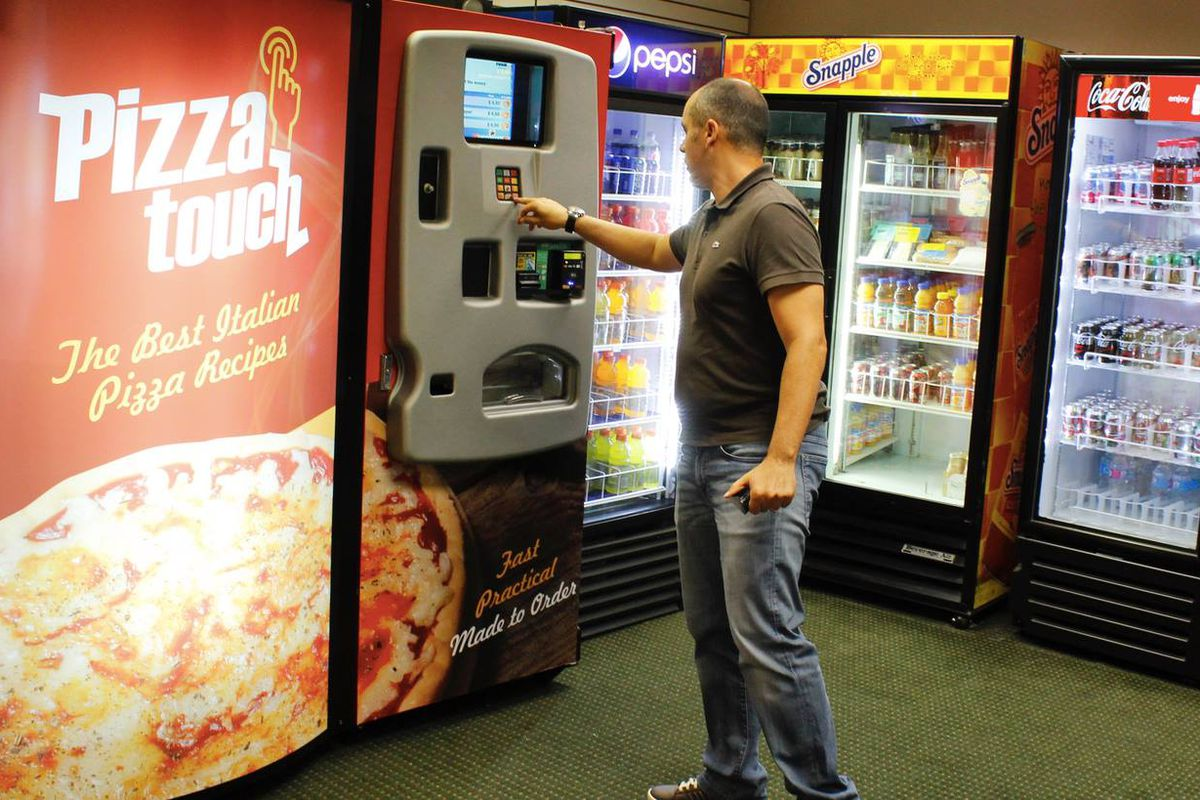 Pizza Vending Machines Are Multiplying And May Well