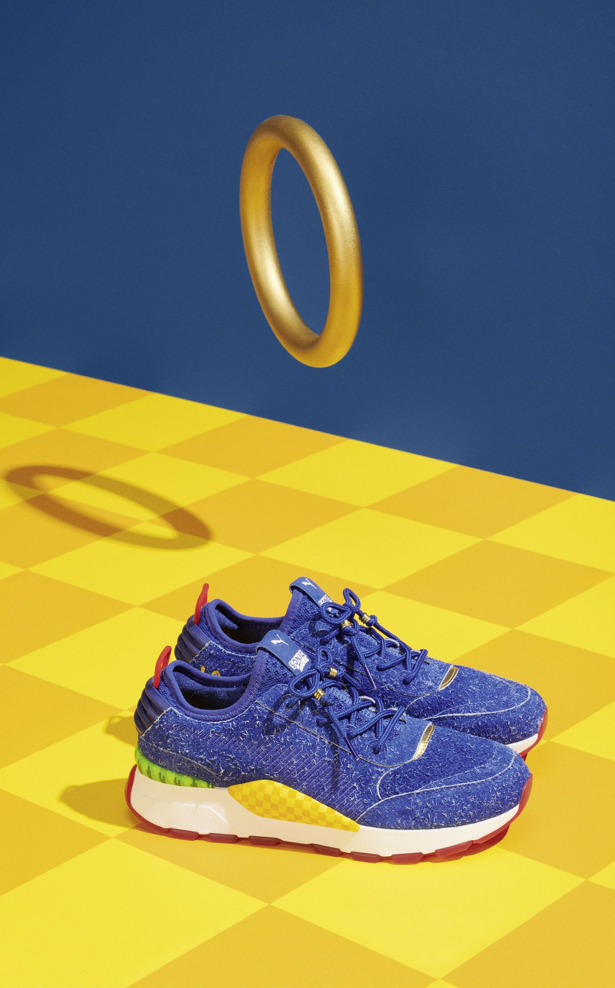 a0dbc1f37b8b Puma s Sonic the Hedgehog sneakers on sale starting June 5 - Polygon