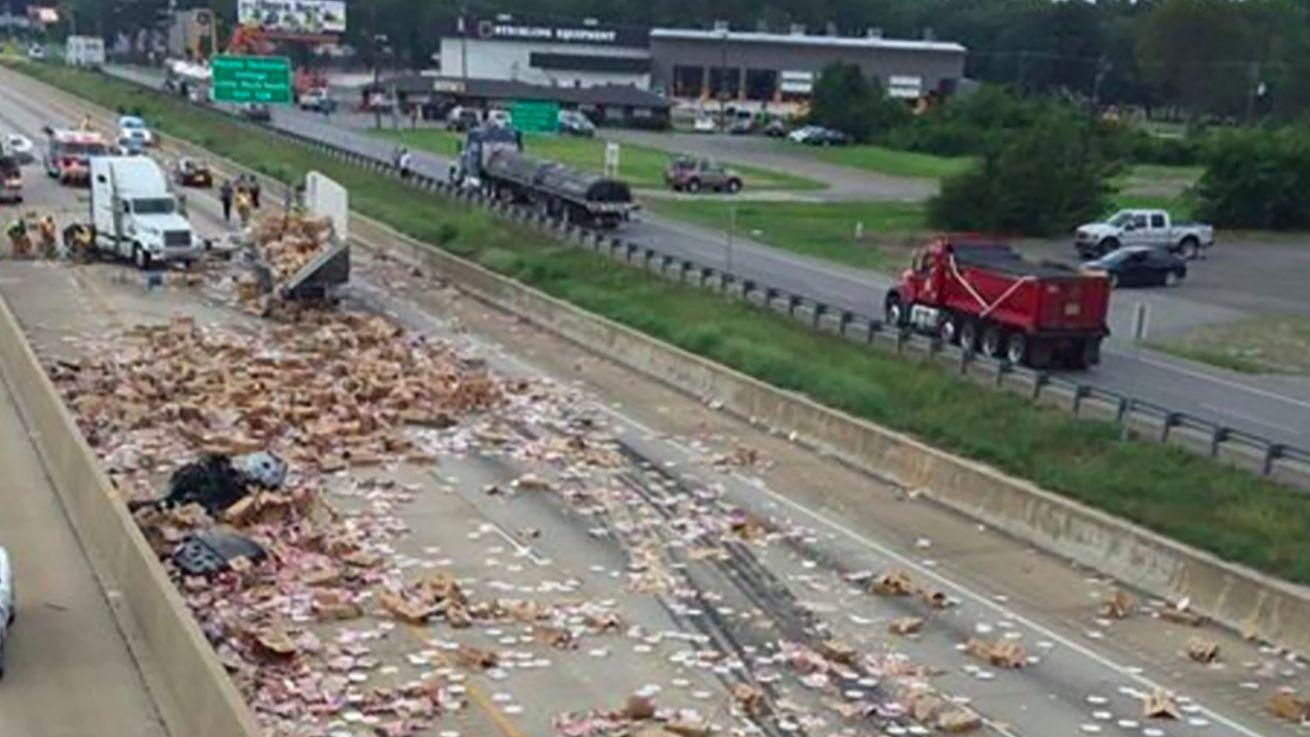 Food Truck Crash Arkansas I