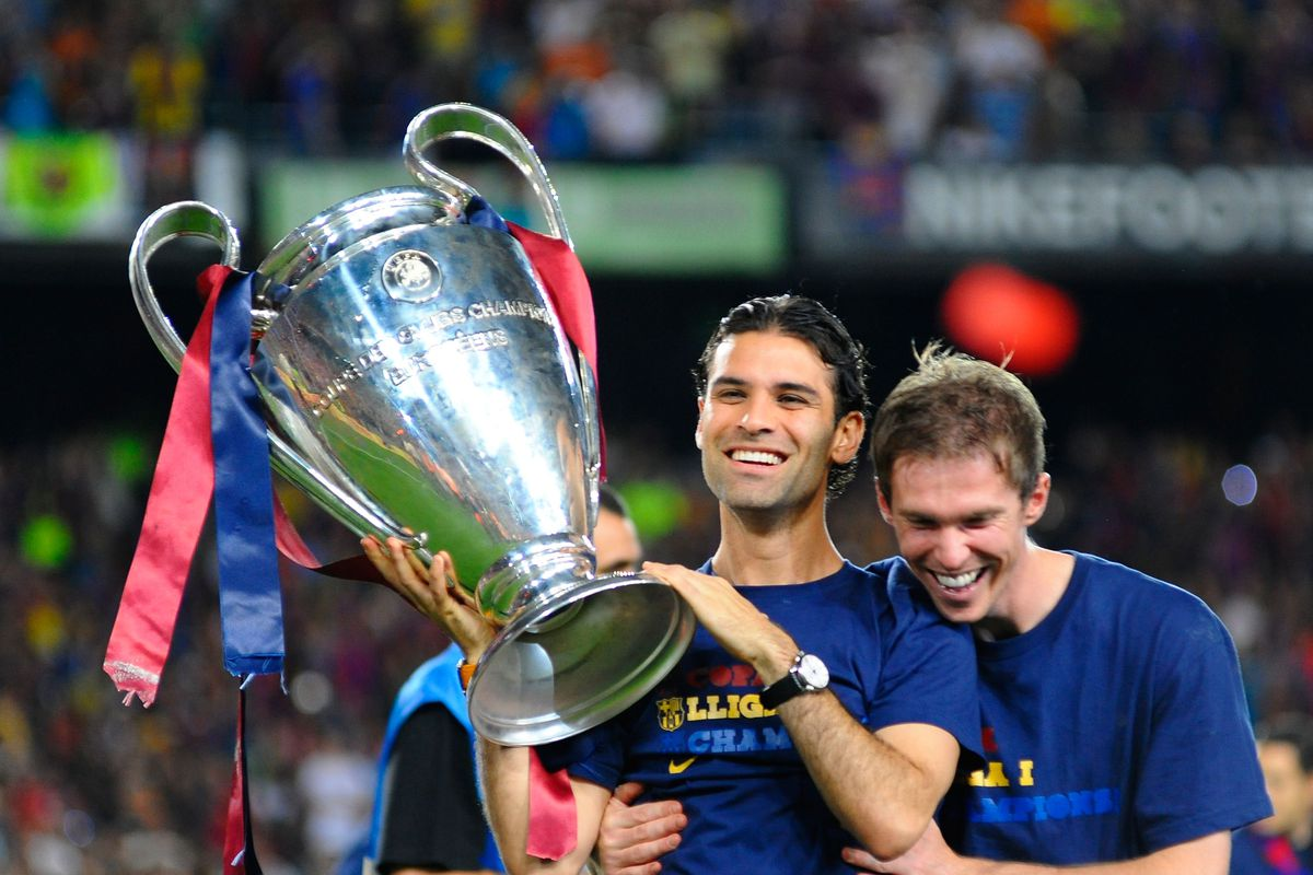 Barcelona Celebrates UEFA Champions League Victory