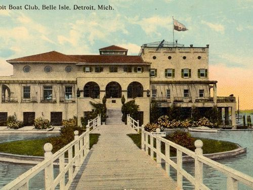 Explore Belle Isle S Crumbling 113 Year Old Boathouse
