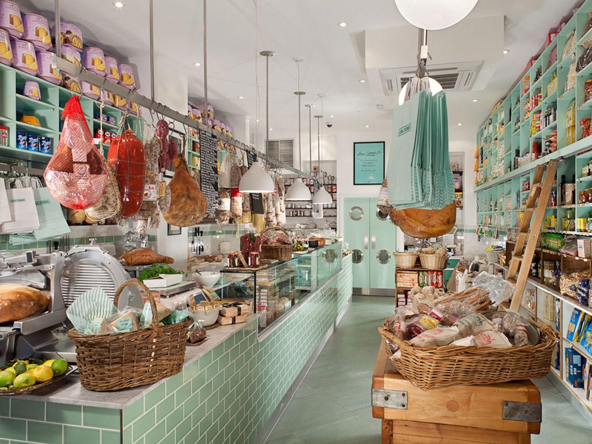Best Italian deli restaurants in London: Lina Stores