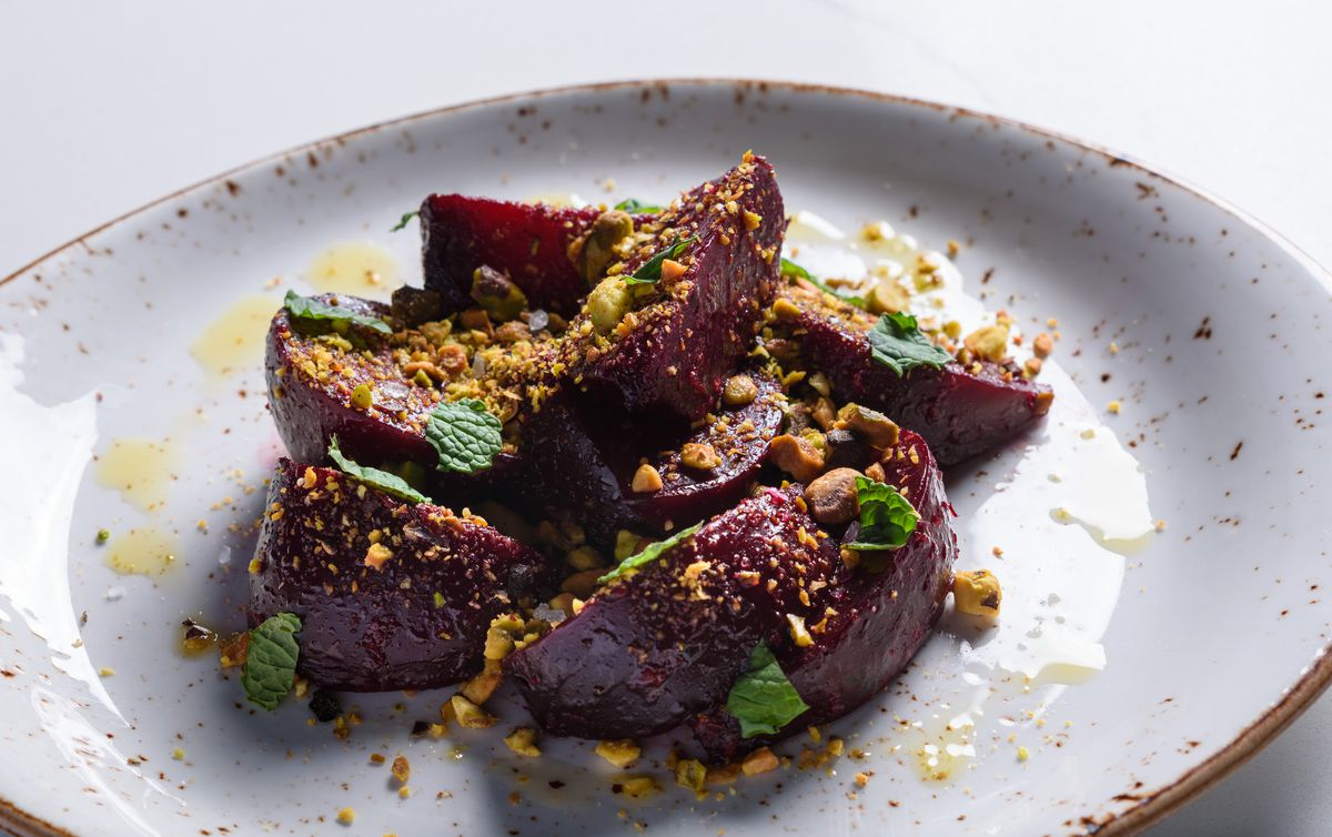 Roasted beets at Jeannie's