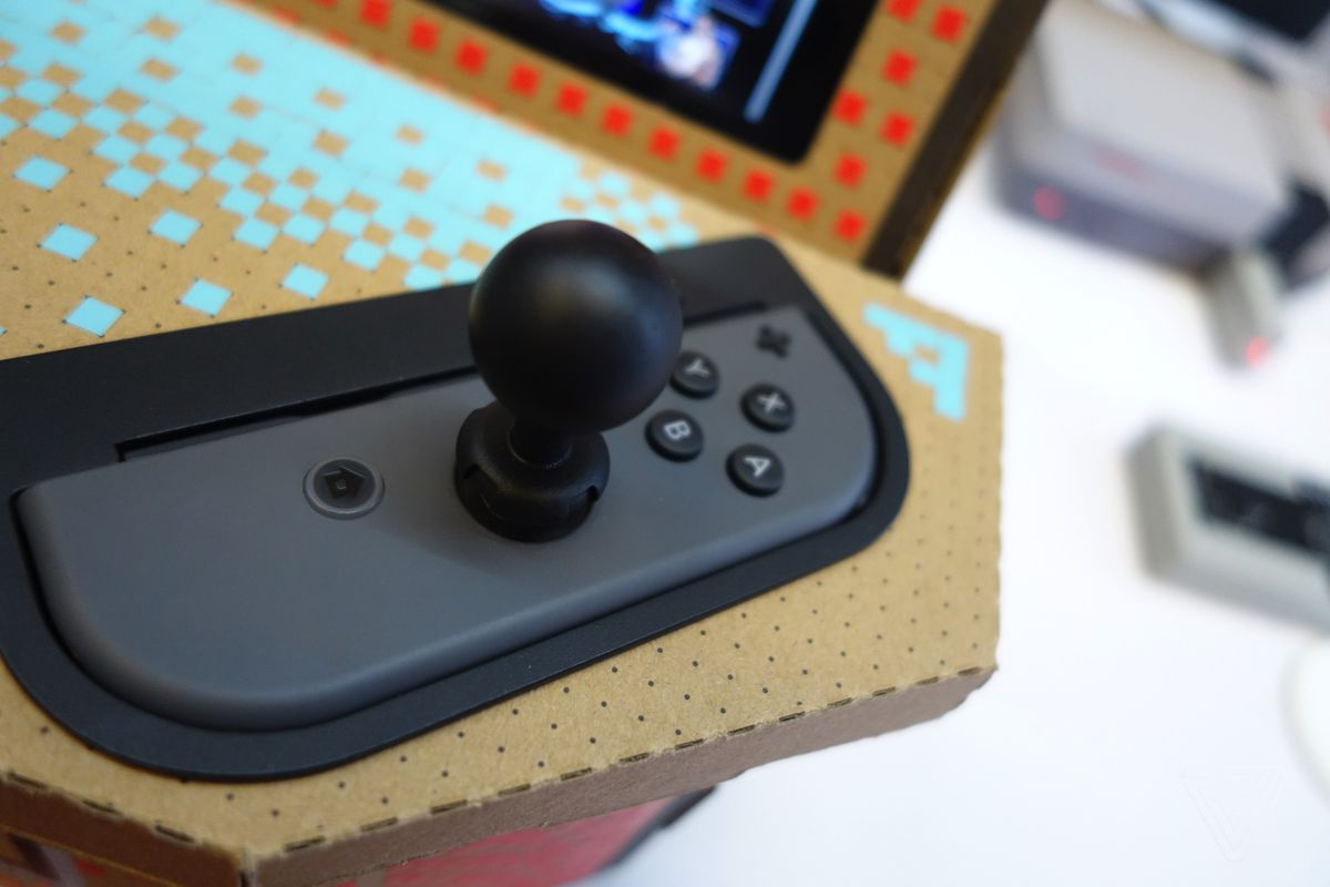 Nyko's $20 cardboard arcade for the Switch looks to trade on