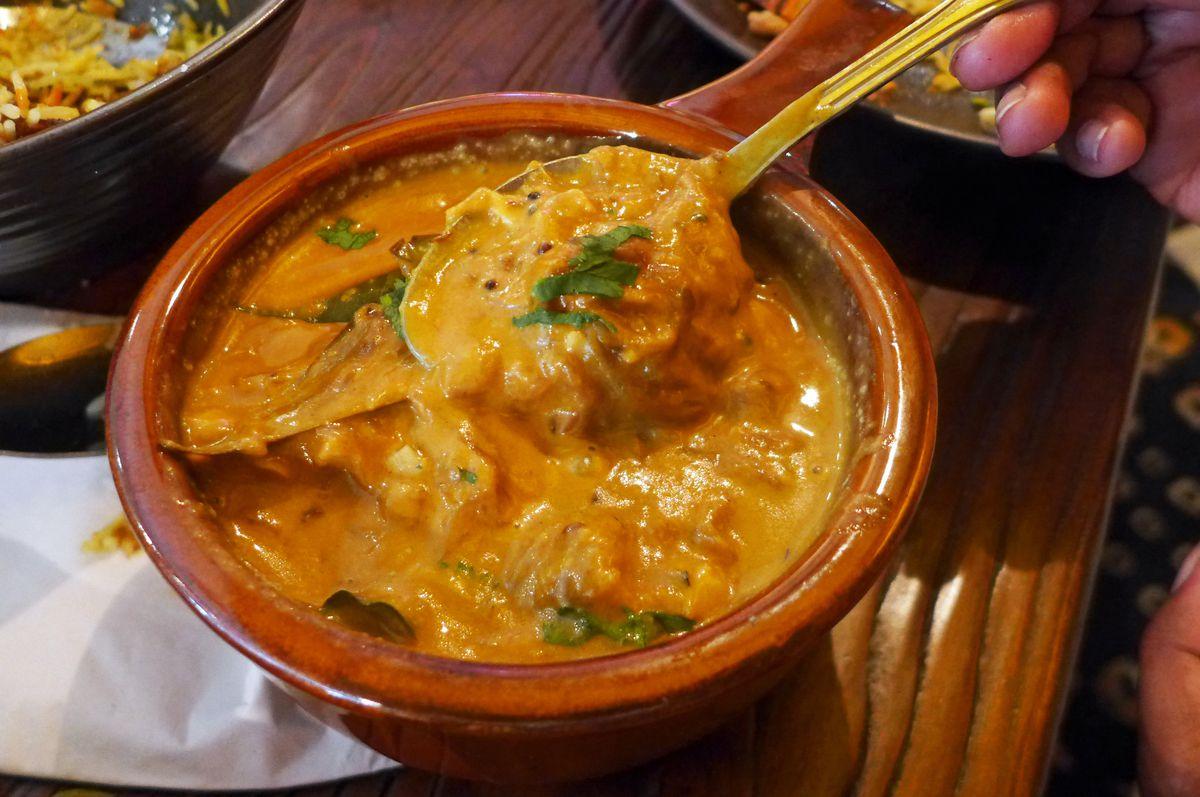 Bengoli fish curry at Bajeko Sekuwa