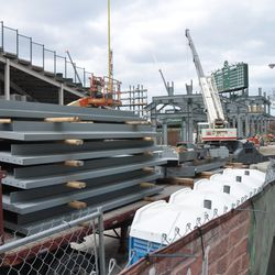 Steel delivery on Sheffield -