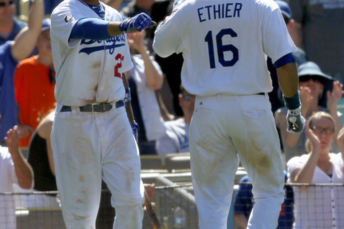 Matt Kemp and Andre Ethier earned extended stays in Phoenix next week.