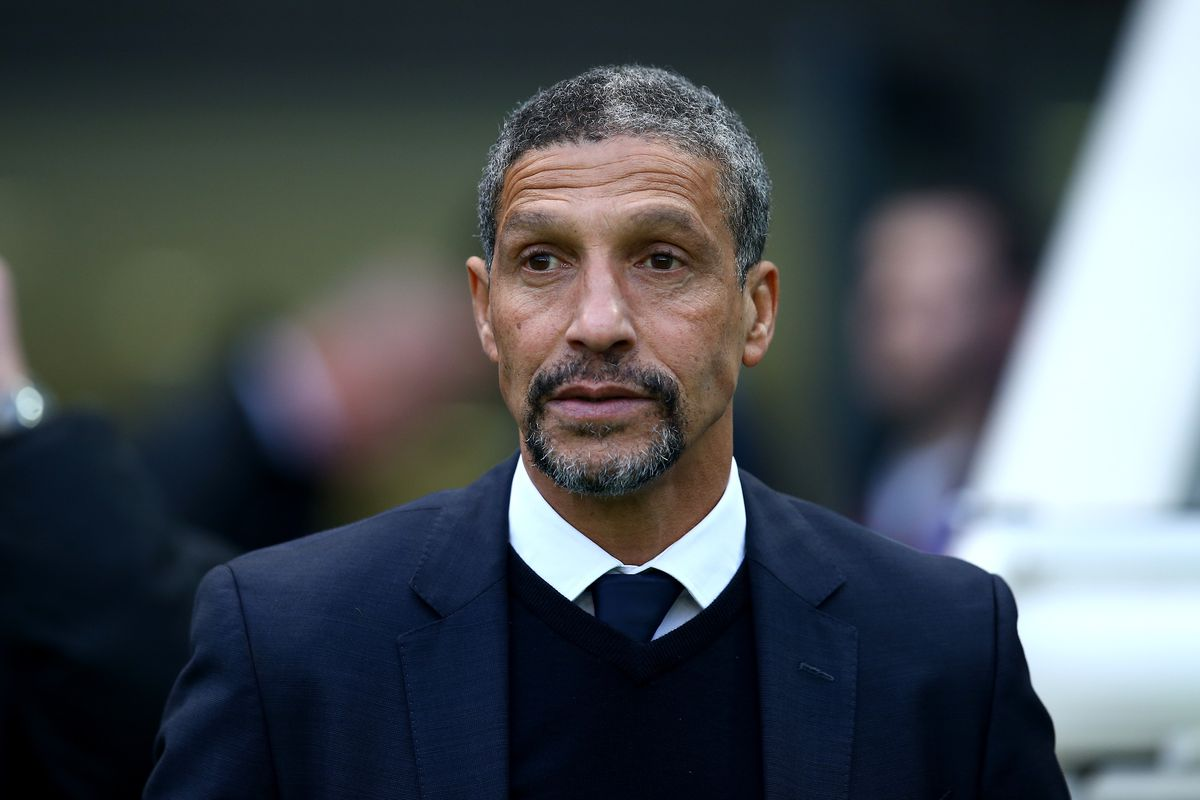 Chris Houghton during his side's 3-2 win.