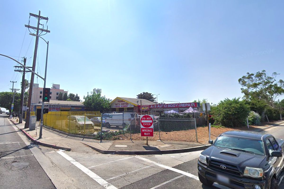 Street view of project site