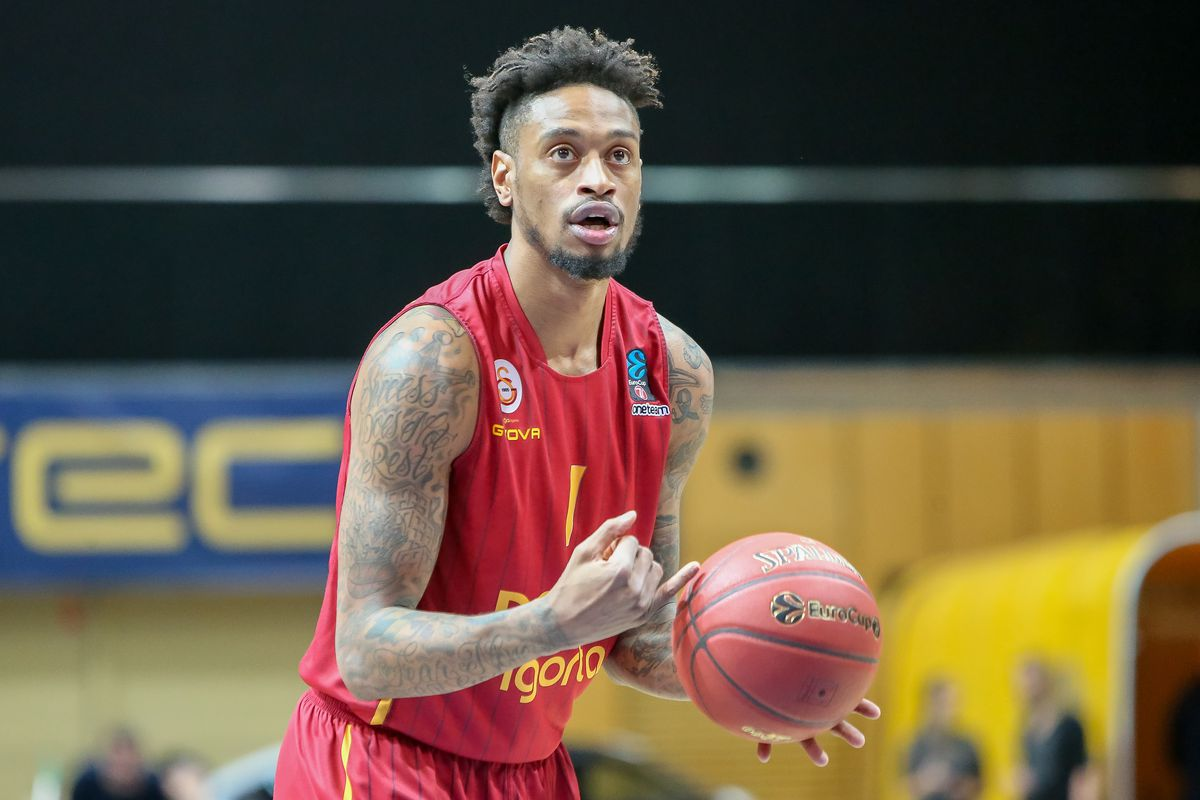 Greg Whittington seen in action during the 7days EuroCup...