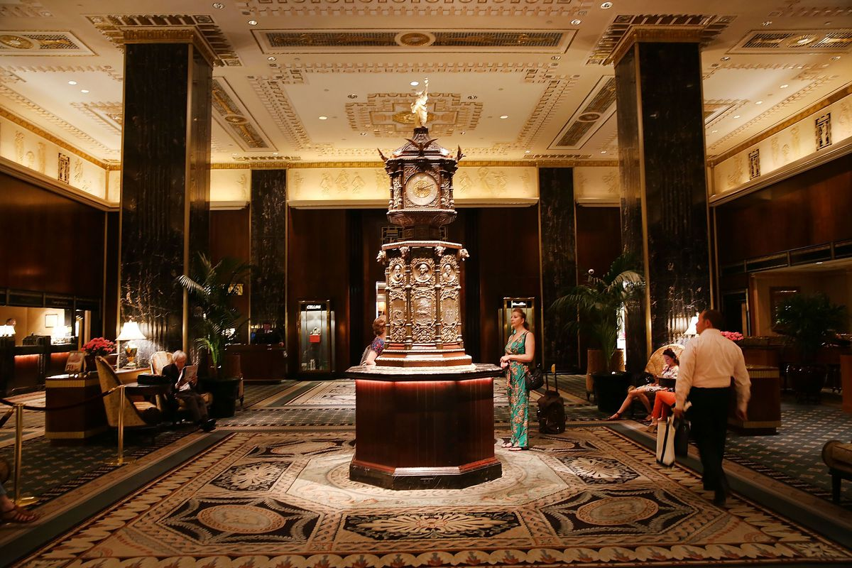 Waldorf Astoria S Iconic Art Deco Interiors Become An Nyc