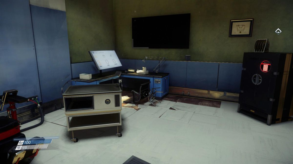 Prey Guide Where To Find Fabrication Plans For Ammo Consumables Flashlight Stun Gun Schematic Diagram The Easiest And Earliest Copy Of This Plan Is Inside A Safe In Simulation Lab Debriefing Room You Can Combination Within Your Video Message