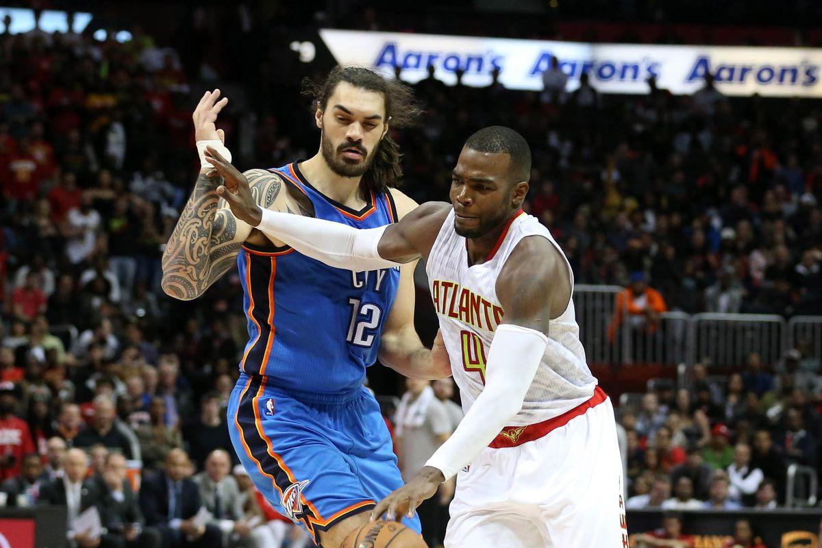 NBA: Oklahoma City Thunder at Atlanta Hawks