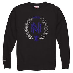 """Want to show your Philly pride while gifting this Valentine's Day? Well, Mitchell & Ness carries a black crew sweater that includes a blue stitch Liberty Bell. Life, liberty, and love this Valentine's Day! <a href=""""http://www.mitchellandness.com/Products/"""
