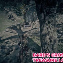 Bard's Crossing Treasure Chest location 1