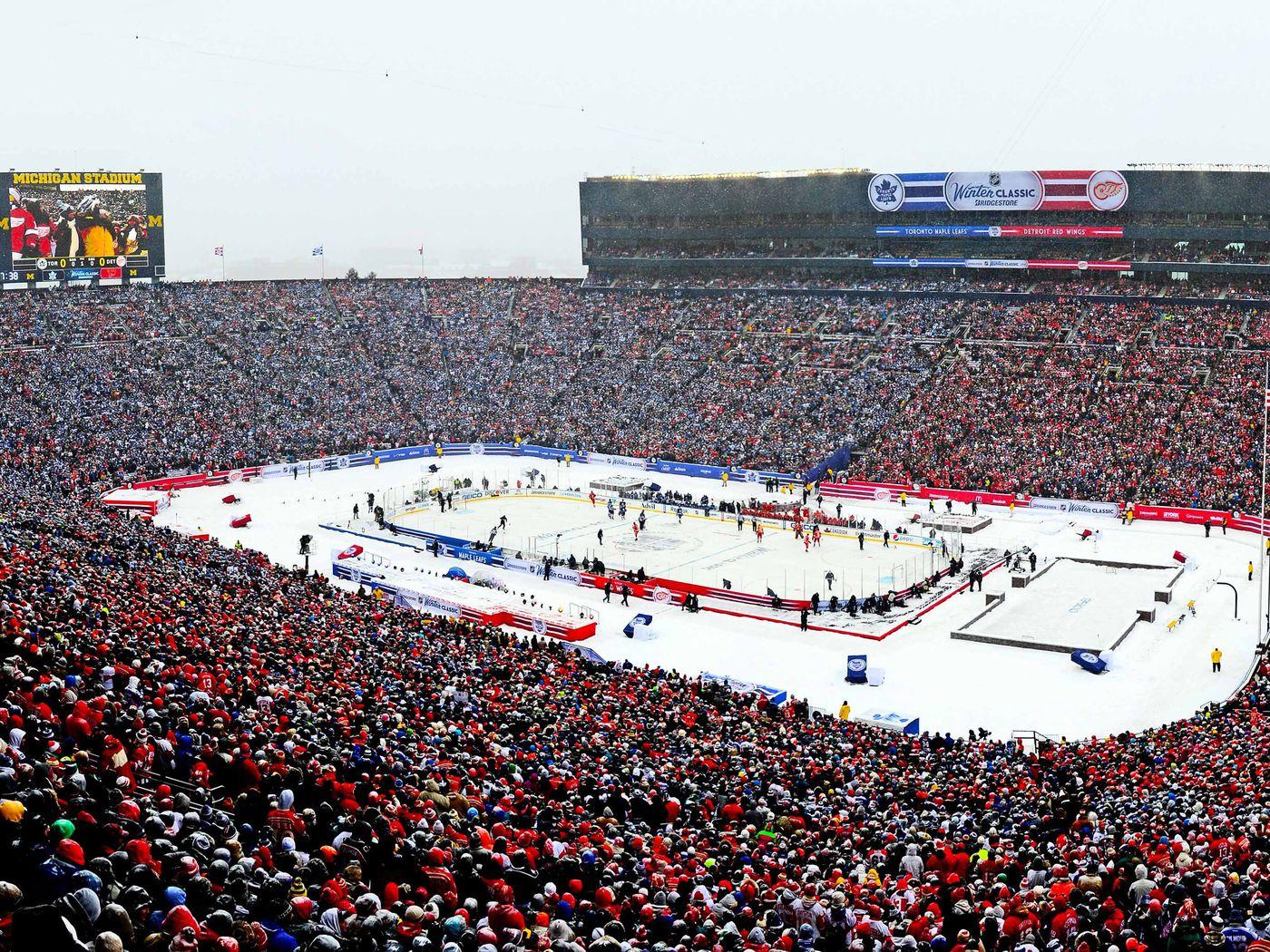 A Special Memory: 2014 Bridgestone NHL Winter Classic® Recap - Winging It  In Motown