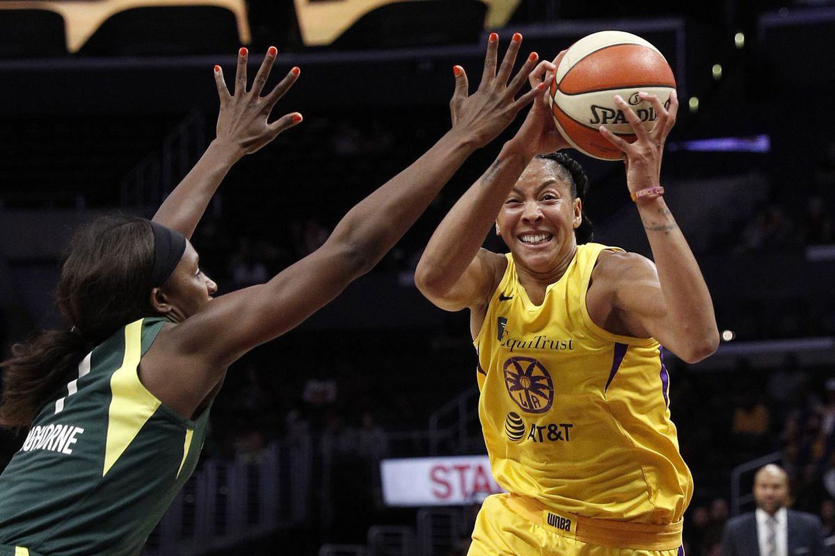 WNBA: Sparks defeat Storm 102-68 on Thursday, clinch No. 3 playoff seed