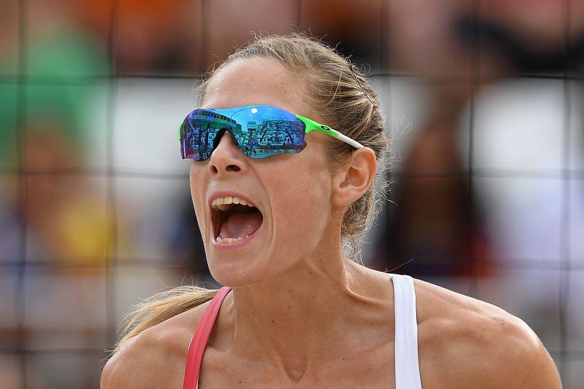 Sarah Pavan is kicking butt in beach volleyball.