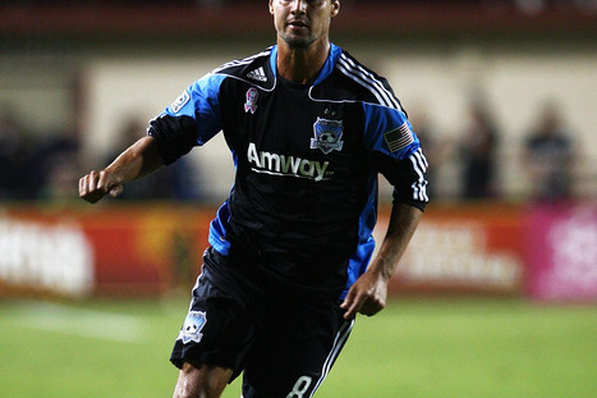 There should be no doubt. Chris Wondolowski is a goal scorer in MLS.(Photo by Tony Medina/Getty Images)