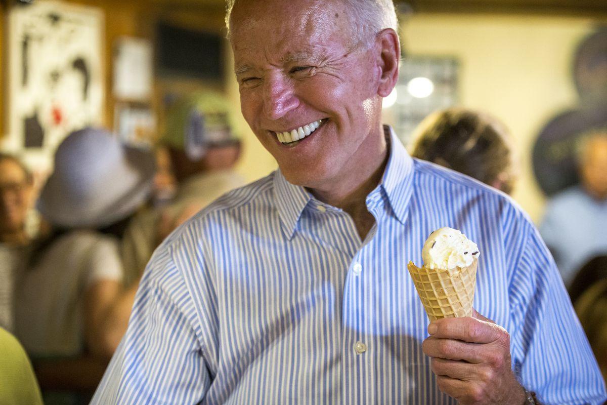 U.S. Presidential Candidate Joe Biden Visits NH