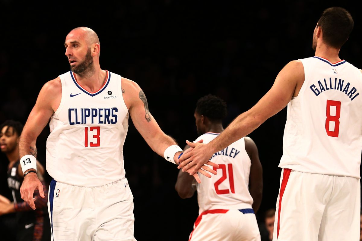 NBA: Los Angeles Clippers at Brooklyn Nets
