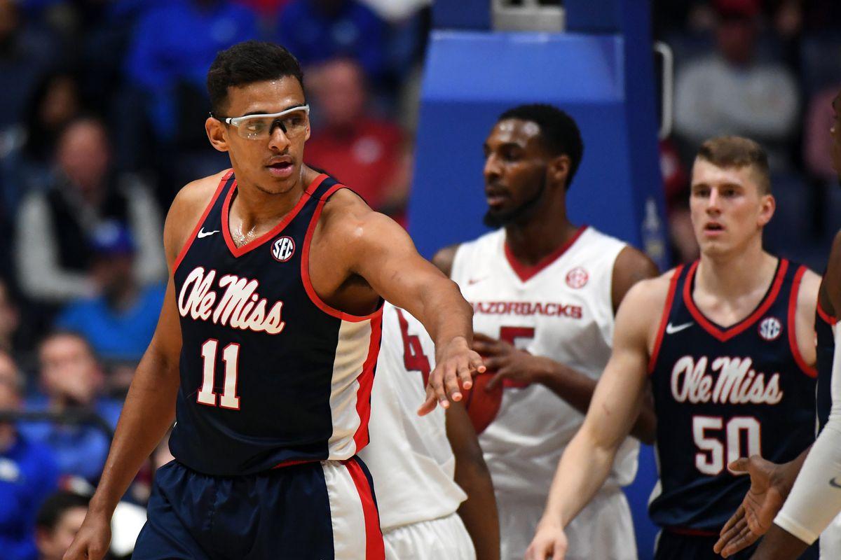 NCAA Basketball: SEC Tournament-Arkansas vs Mississippi