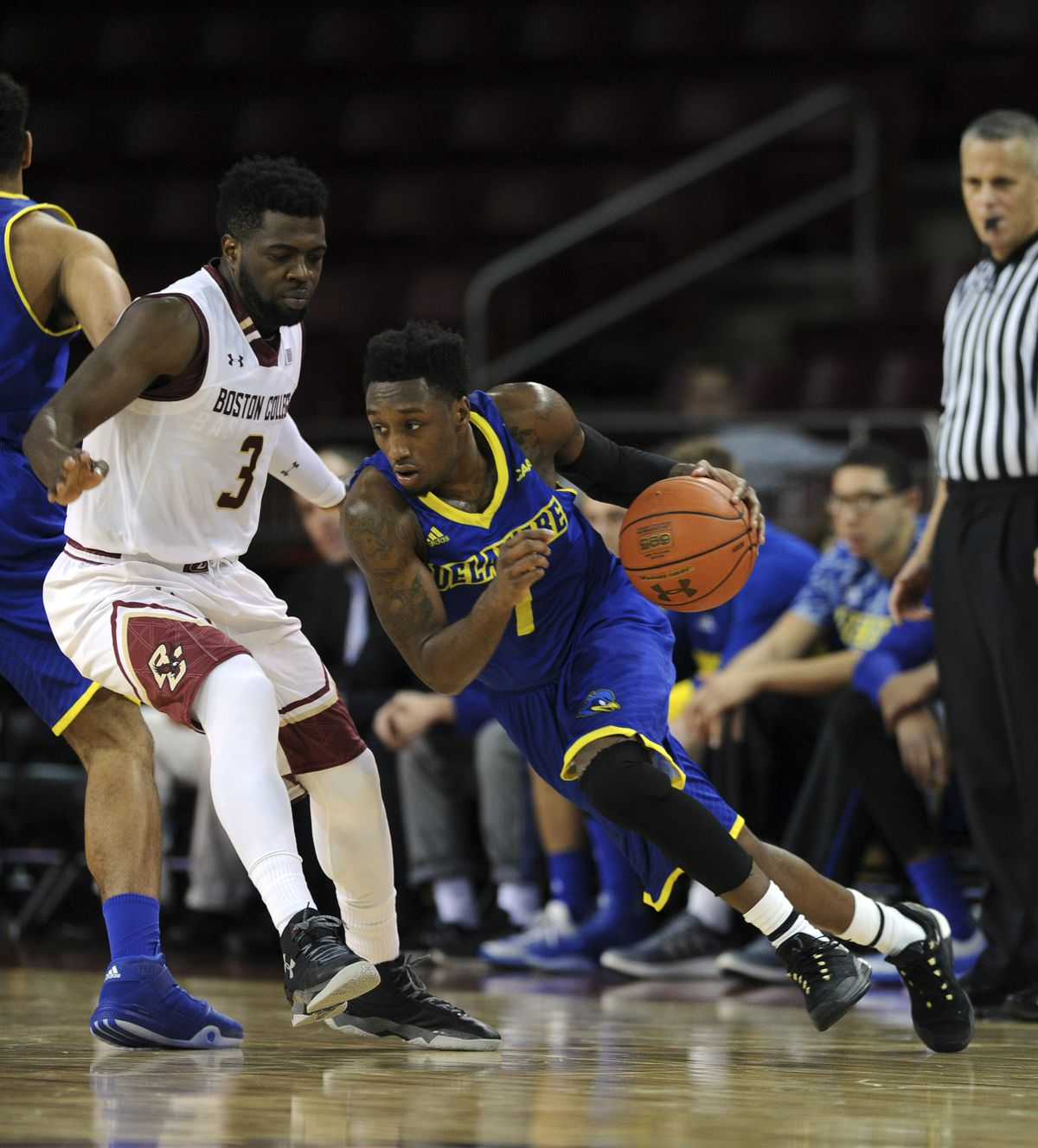 NCAA Basketball: Delaware at Boston College