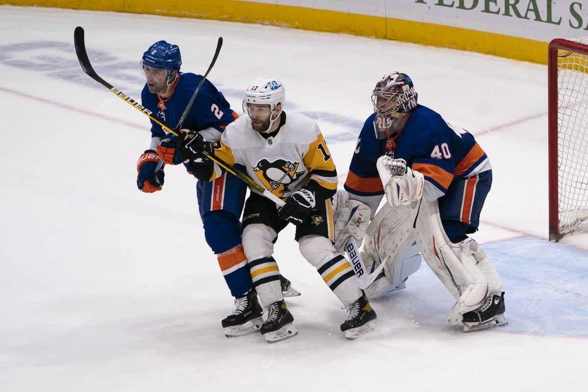 NHL: FEB 27 Penguins at Islanders