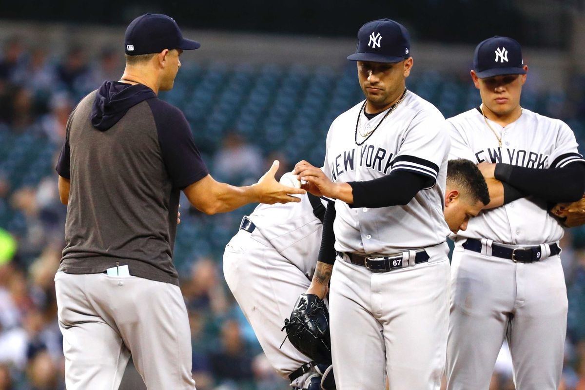 Yankees Highlights: Bombers slug six homers but pitching fails in Detroit