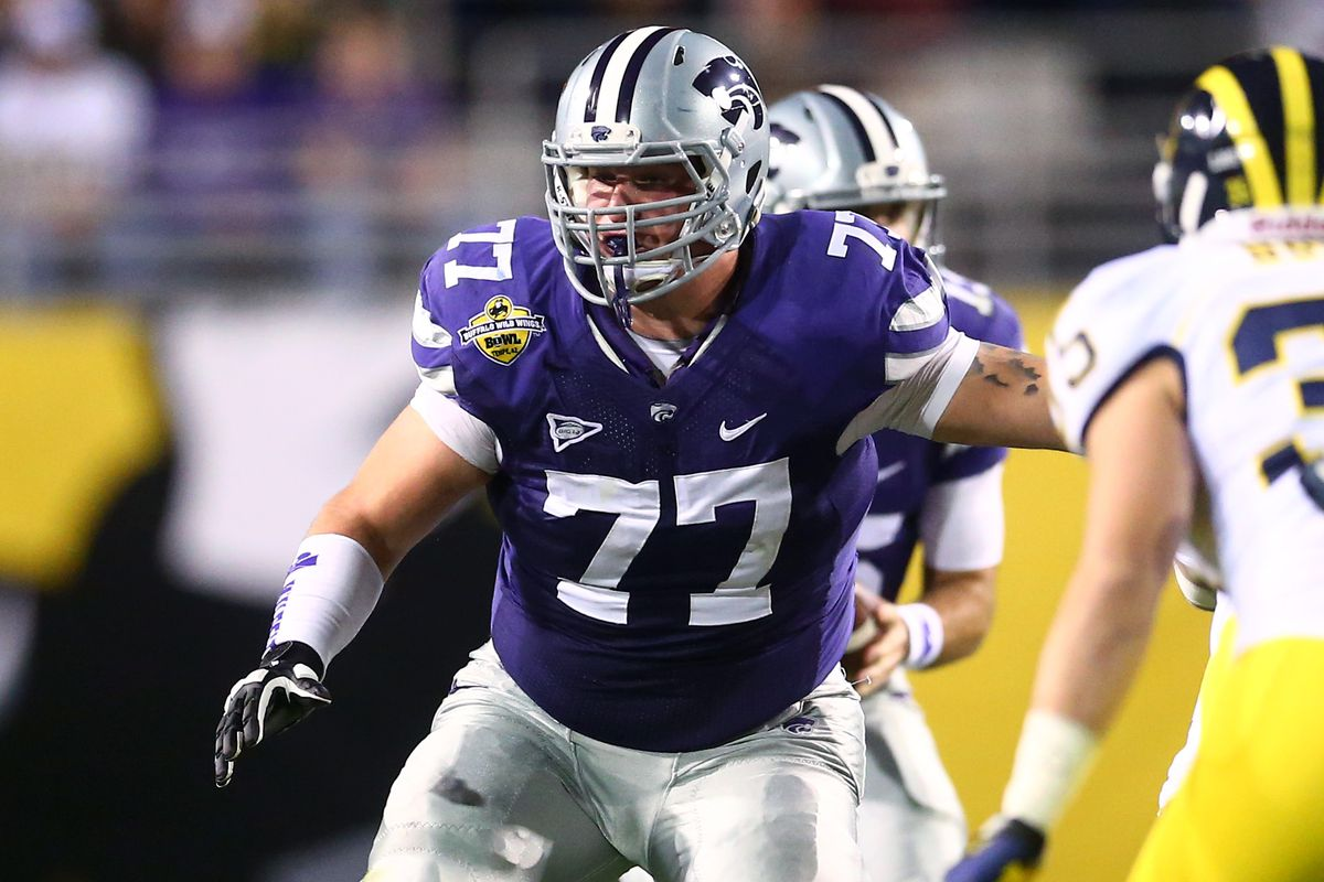 Four out of five of K-State's starting offensive linemen return in 2015, but all eyes will be on senior Boston Stiverson to see how he bounces back from a broken foot suffered in the Alamo Bowl.