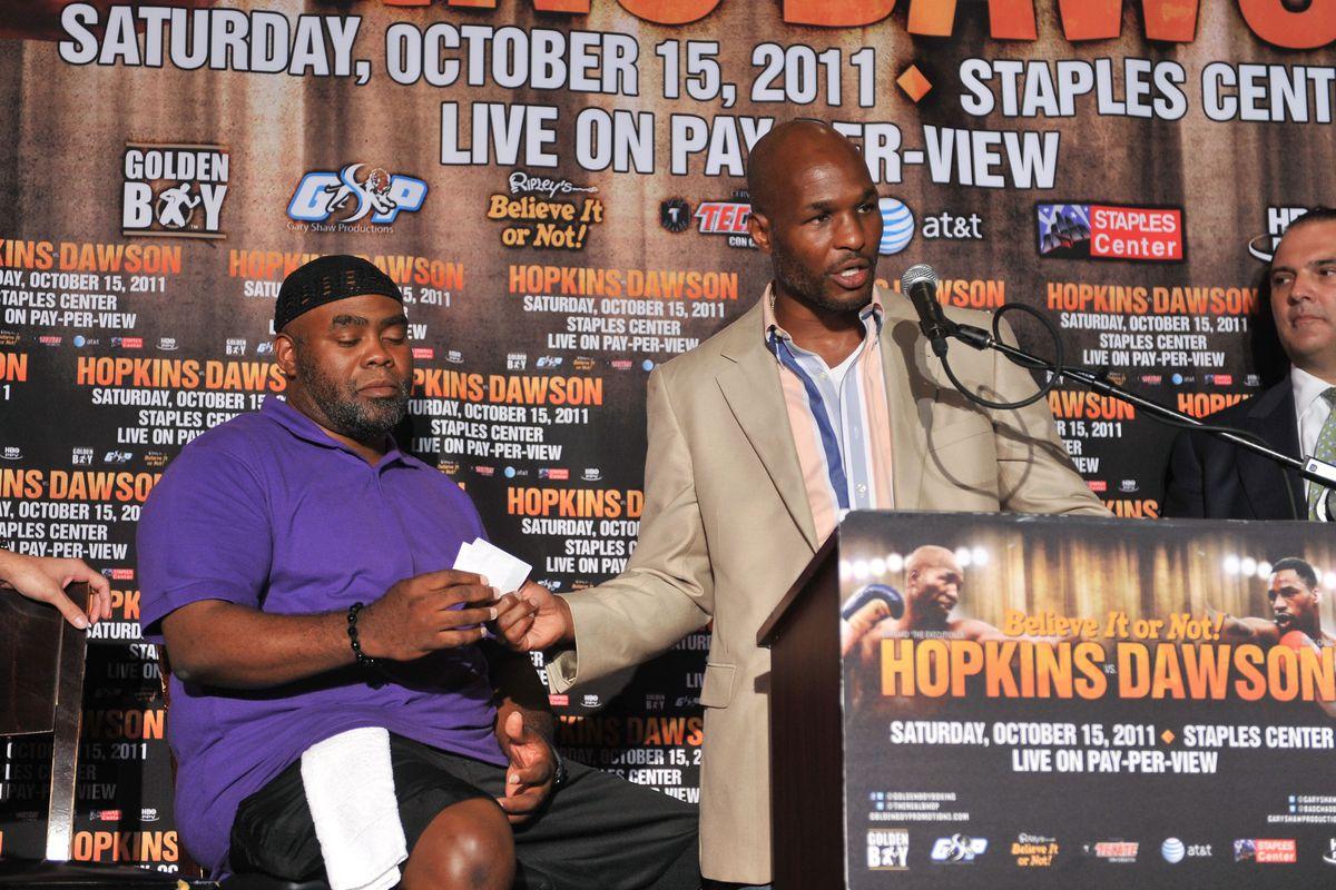 "Bernard ""The Executioner"" Hopkins & ""Bad"" Chad Dawson Press Conference"