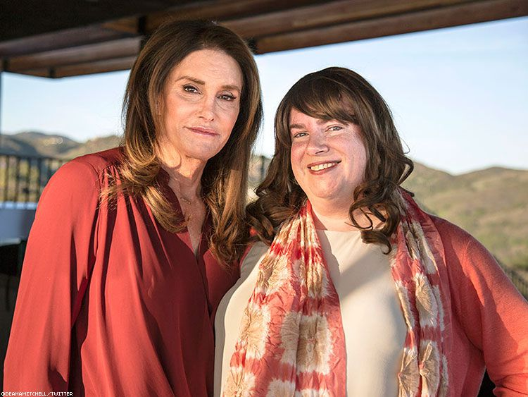 In 2016, Caitlyn Jenner hosted Dawn Ennis high above Malibu for the first interview with a trans journalist in her home.