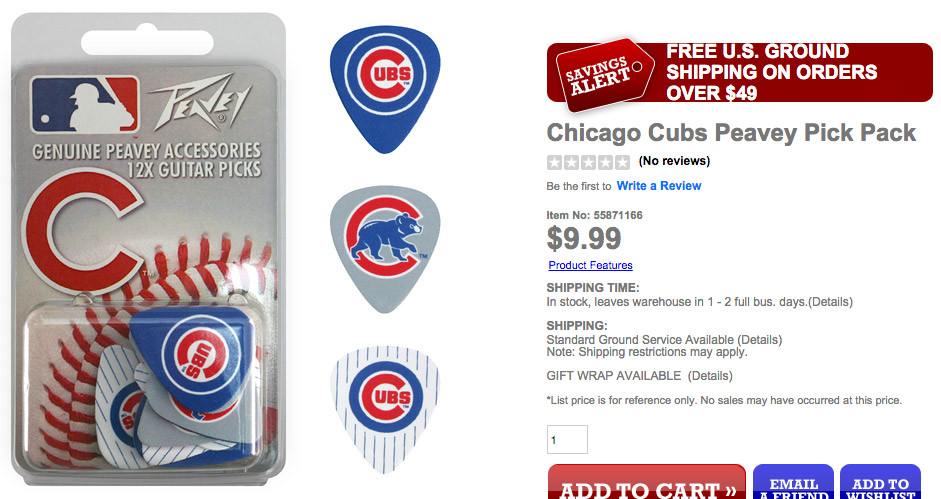 Cubs picks