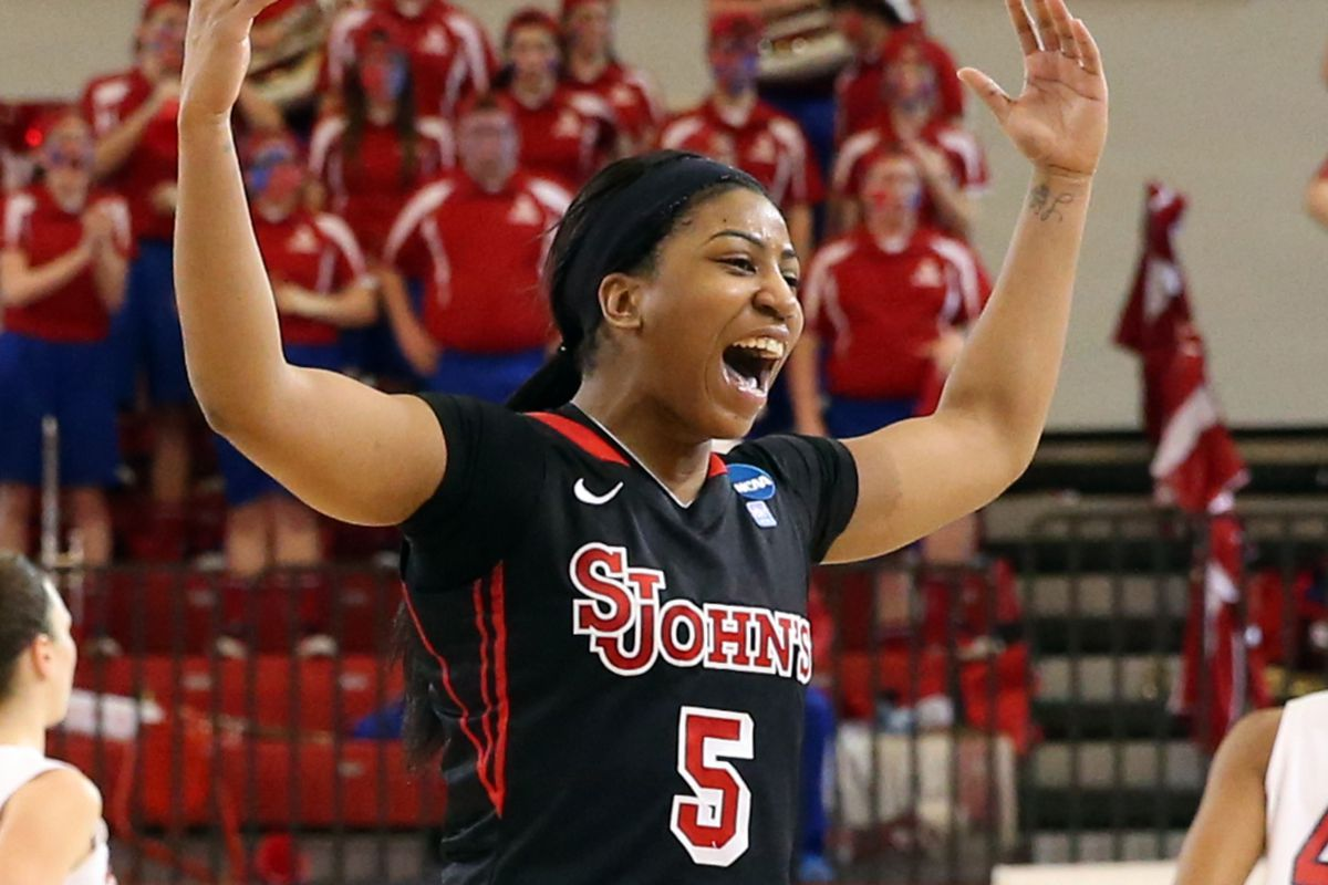 Congratulations are in order the the St. John's point guard Nadirah McKenith.