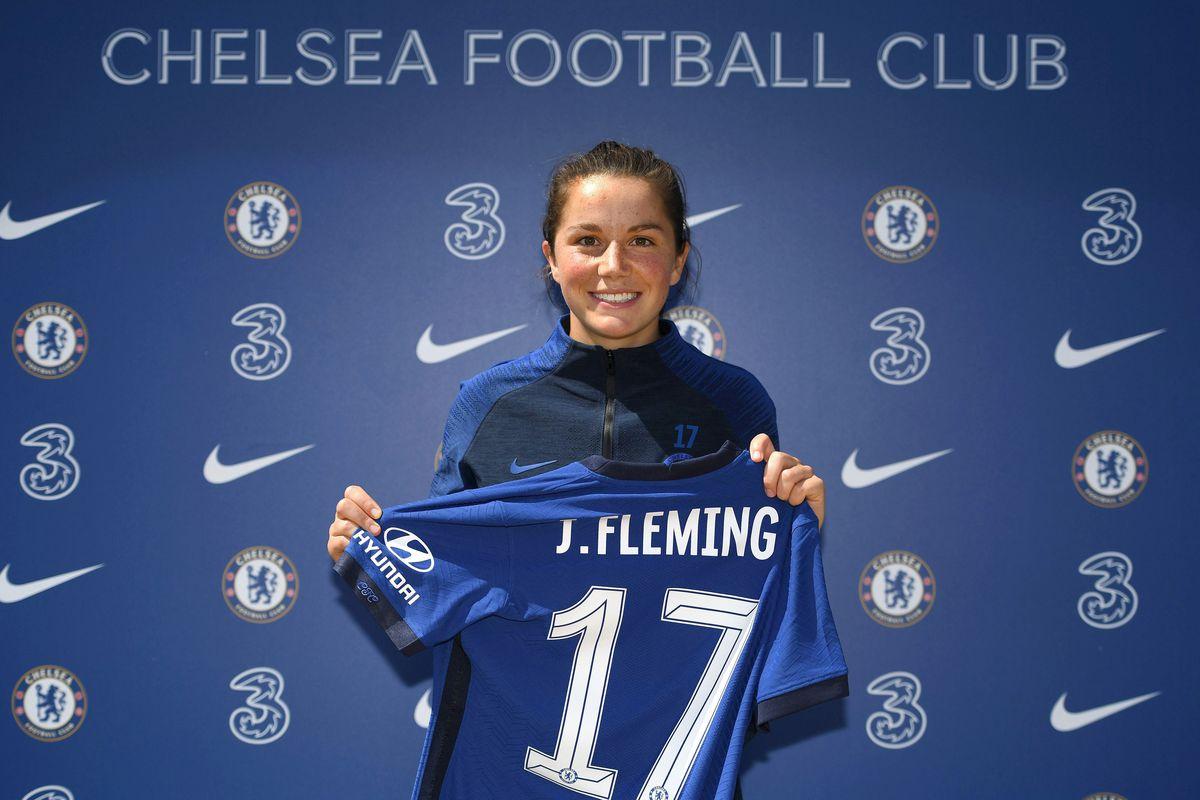 Chelsea FC Women Unveil New Signing Jessie Fleming