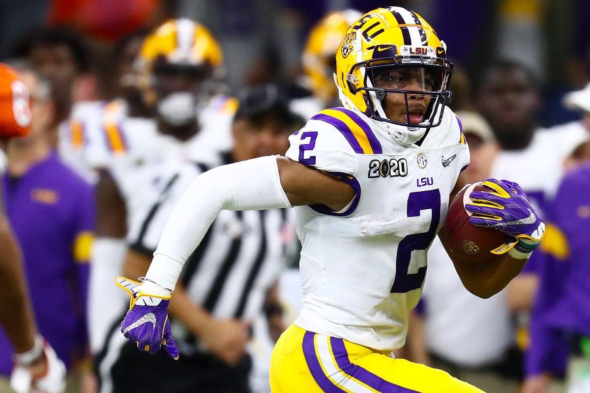 2020 NFL Draft Prospect Profiles - Justin Jefferson, WR, LSU ...