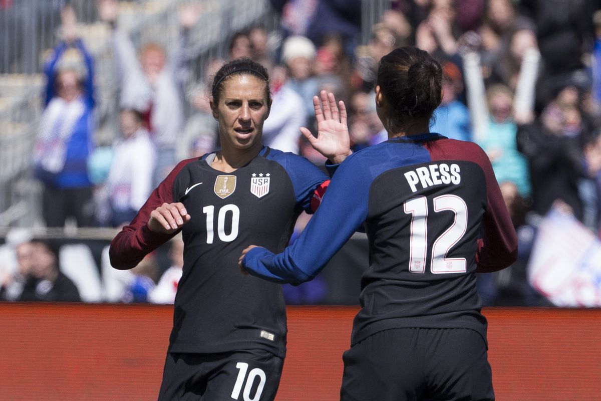 Chicago Red Stars Trade Team USA Striker Christen Press in Blockbuster Deal