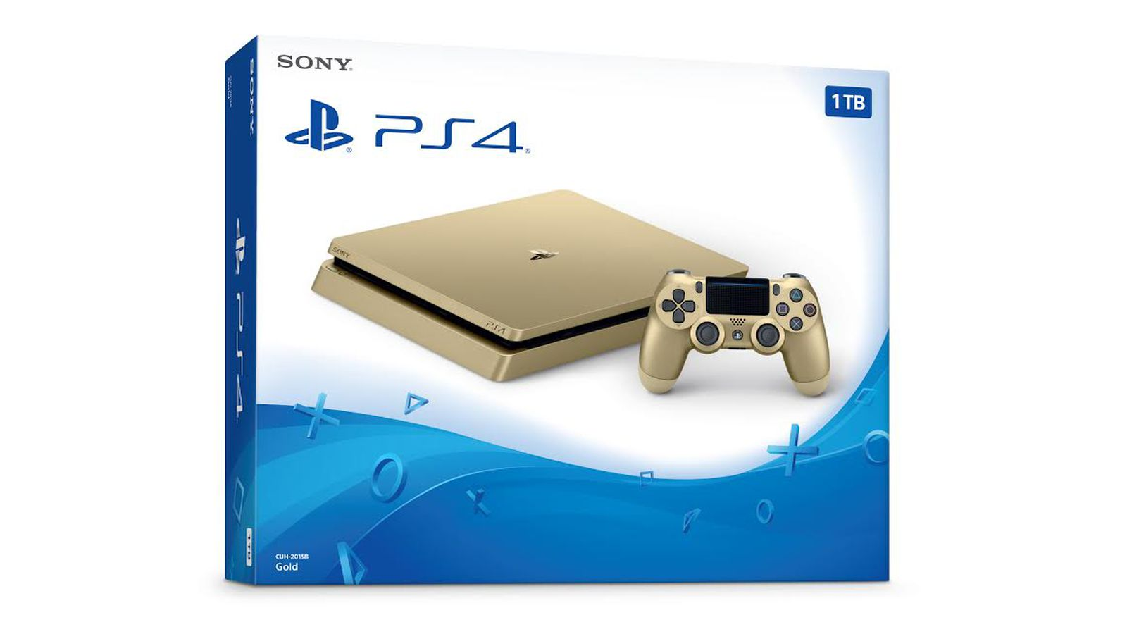 Sony is releasing a limited edition gold PS4 for $249