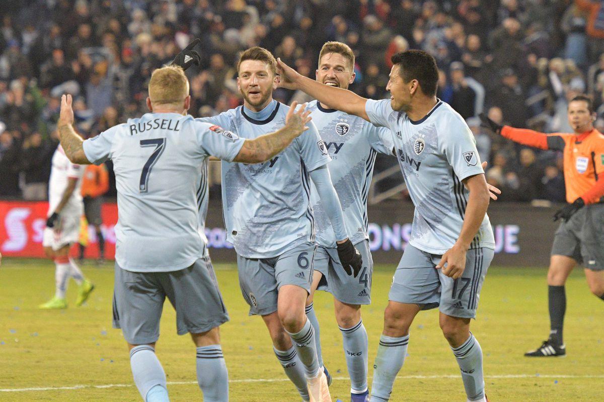 MLS: Champions League-Toluca at Sporting KC