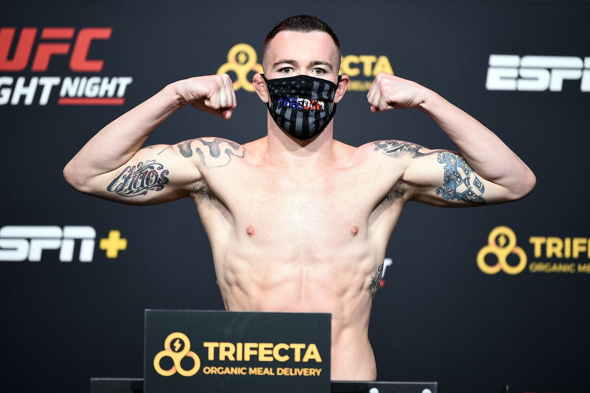 UFC Fight Night Covington v Woodley: Weigh-Ins