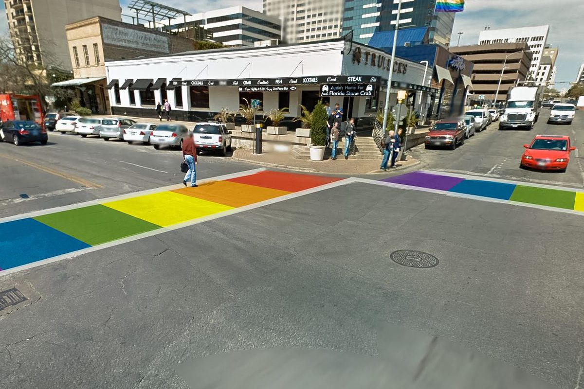 An early design of the crosswalk