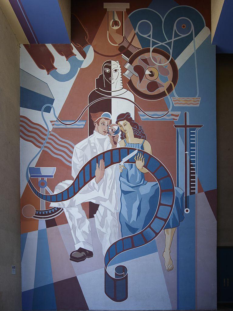 Restored mural from Fair Park