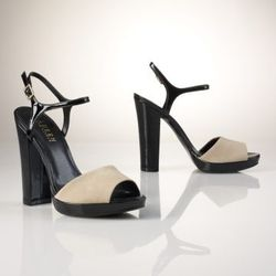 """<a href= """"http://www.ralphlauren.com/product/index.jsp?productId=12571514&cp=2943768.3510411&ab=viewall&view=all&parentPage=family"""">Beatriz Patent-Suede Sandal</a>, was $98 now $33.74"""