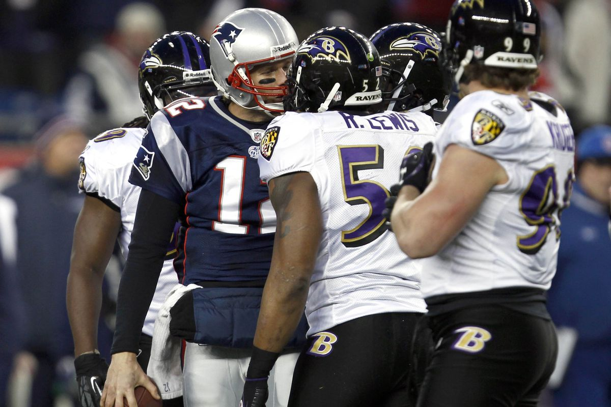 Pictured: Ray Lewis, a guy Ray Lewis doesn't know.