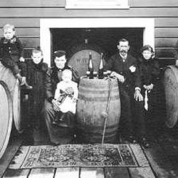 CH Wente Winery, 1895. founded in 1883 in California's Livermore Valley, C.H. Wente is the state's oldest continuously family-owned winery. (Source: tastecaliforniatravel.com)