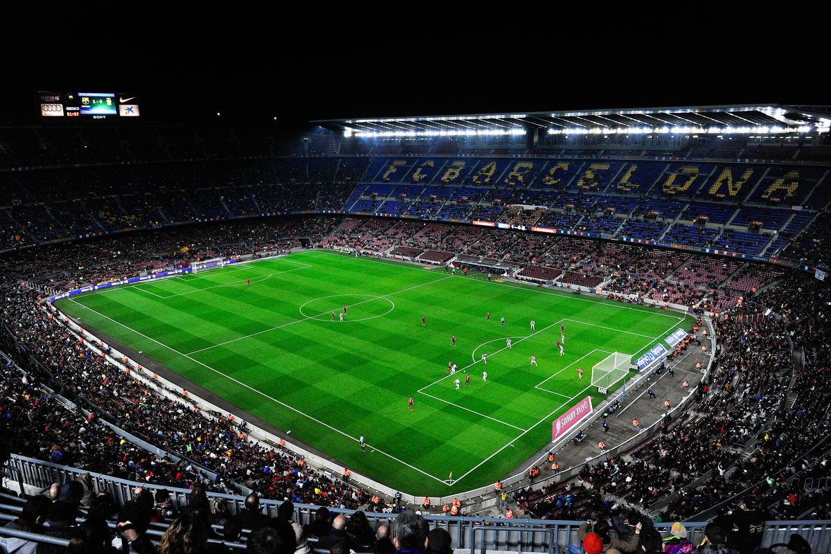 Fc Barcelona Third Highest Attendance In Football Barca Blaugranes